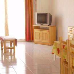 coin séjour salon télé - Location de vacances - Saint Pierre La Mer