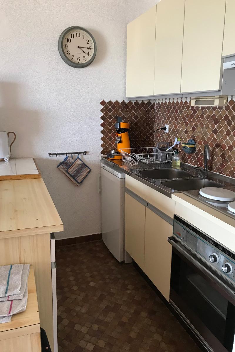 coin cuisine - Location de vacances - Gruissan Port