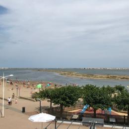 vue directe du balcon - Location de vacances - Gruissan Port