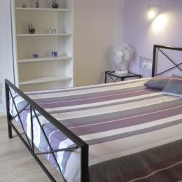 la chambre parent - Location de vacances - Montséret