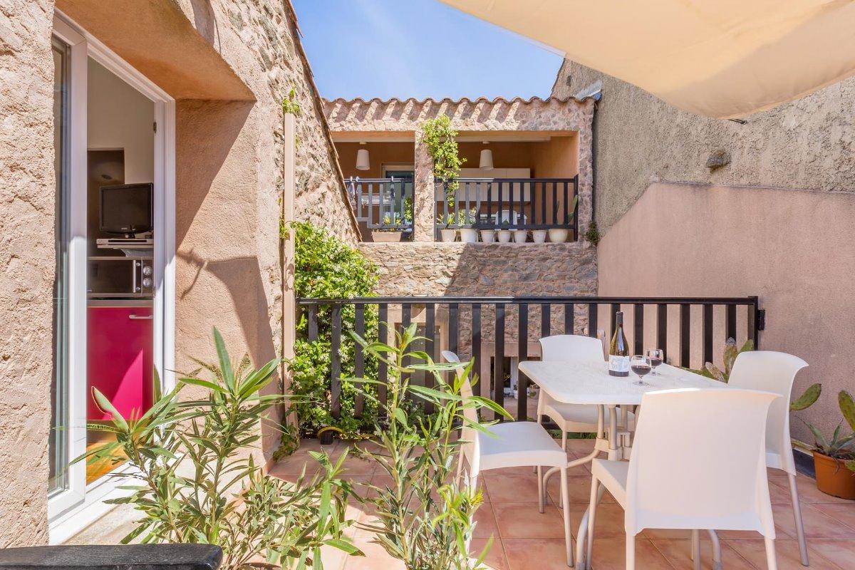 la terrasse ensoleillée - Location de vacances - Escales