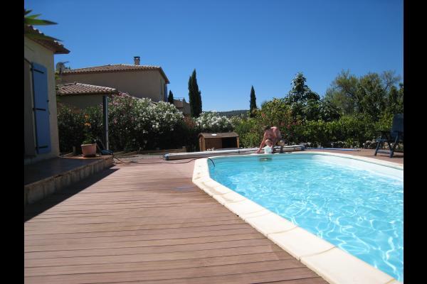 La piscine - Chambre d'hôtes - Saint-Laurent-de-la-Cabrerisse