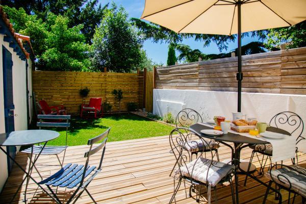 La terrasse et le jardin - Location de vacances - Lézignan-Corbières