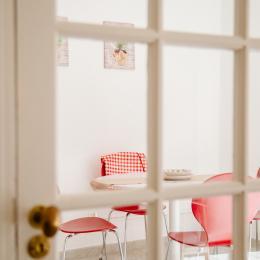La cuisine - coin repas - Location de vacances - Lézignan-Corbières