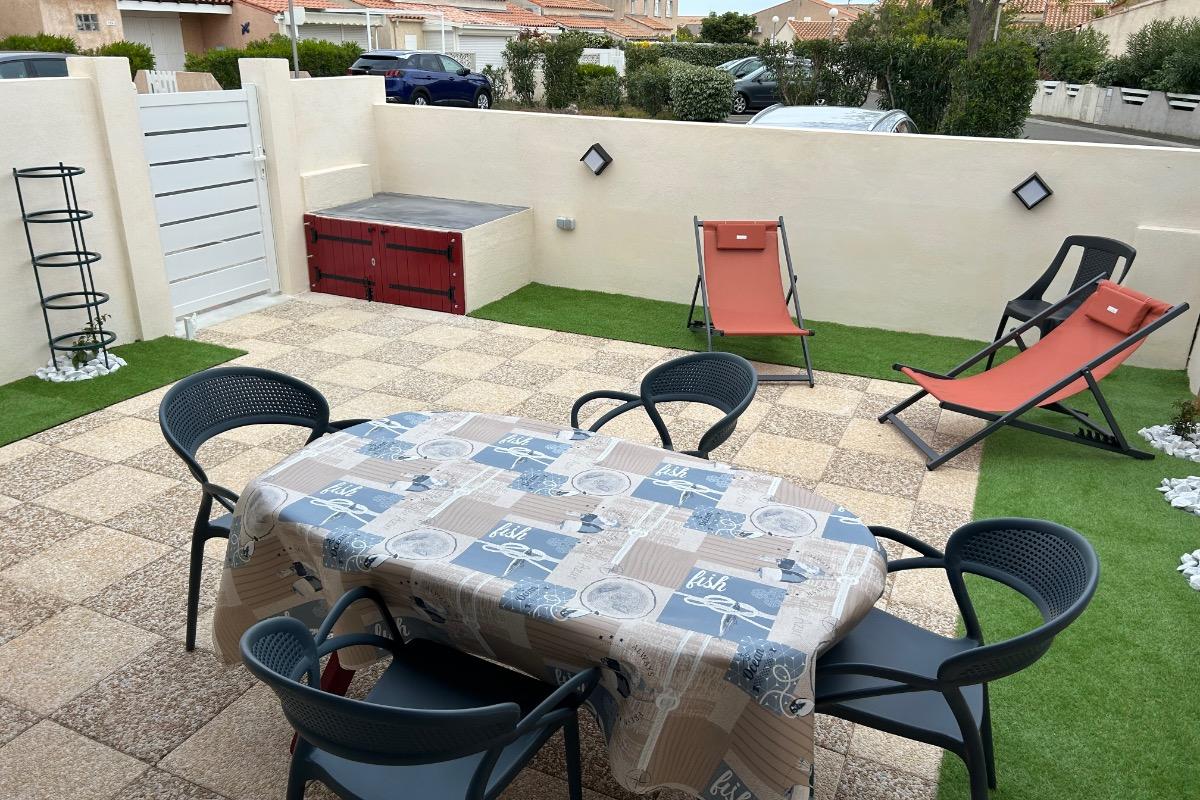 La piscine - Location de vacances - Gruissan Ayguades
