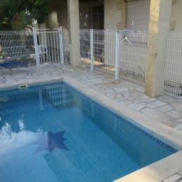 t. avec piscine (2.5 * 4.00) terrasse et jardin dans lotissement   - Location de vacances - Coursan