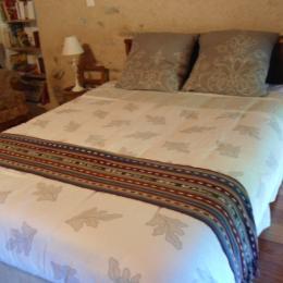 Une chambre , lit 140  - Location de vacances - Palairac