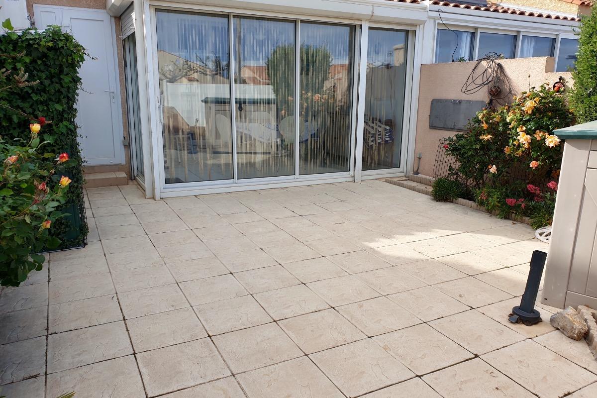 Terrasse et véranda  - Location de vacances - Gruissan Plage