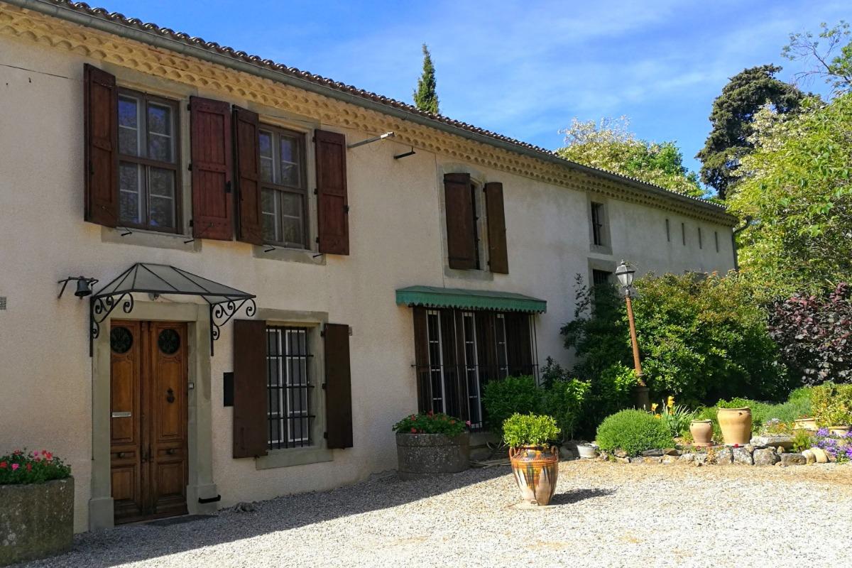 Façade avant de la maison - Location de vacances - Carcassonne