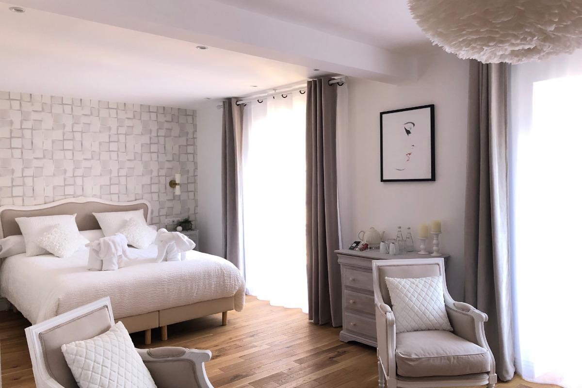 vue générale de la chambre - Chambre d'hôtes - Carcassonne
