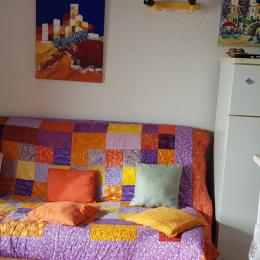 Canapé confortable - Location de vacances - Saint Pierre La Mer