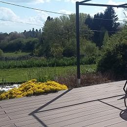 Entourée d'un jardin  - Location de vacances - Lacombe