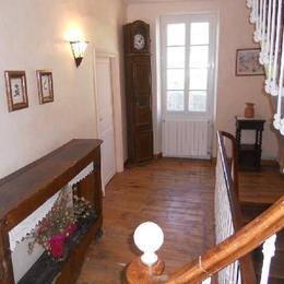 Couloir étage - Location de vacances - Broquiès