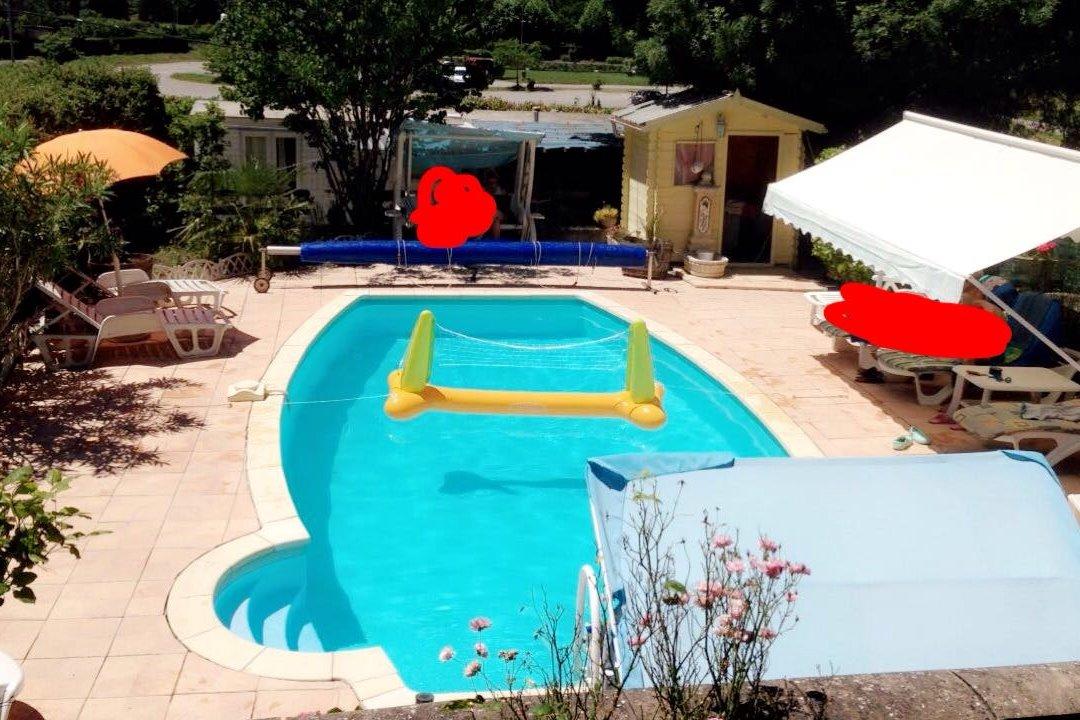 piscine commune - Location de vacances - Millau