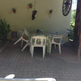 terasse - Location de vacances - Millau