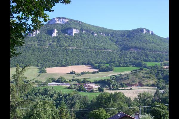 La vue de la terrasse  - Location de vacances - Millau