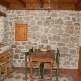 la cuisine de plain-pied - Location de vacances - Nant