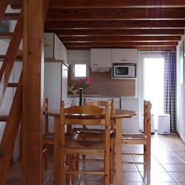 Séjour et cuisine - Location de vacances - Millau
