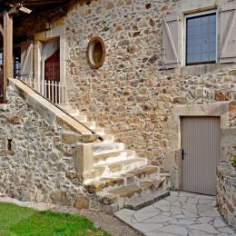 Escalier  - Location de vacances - Maleville