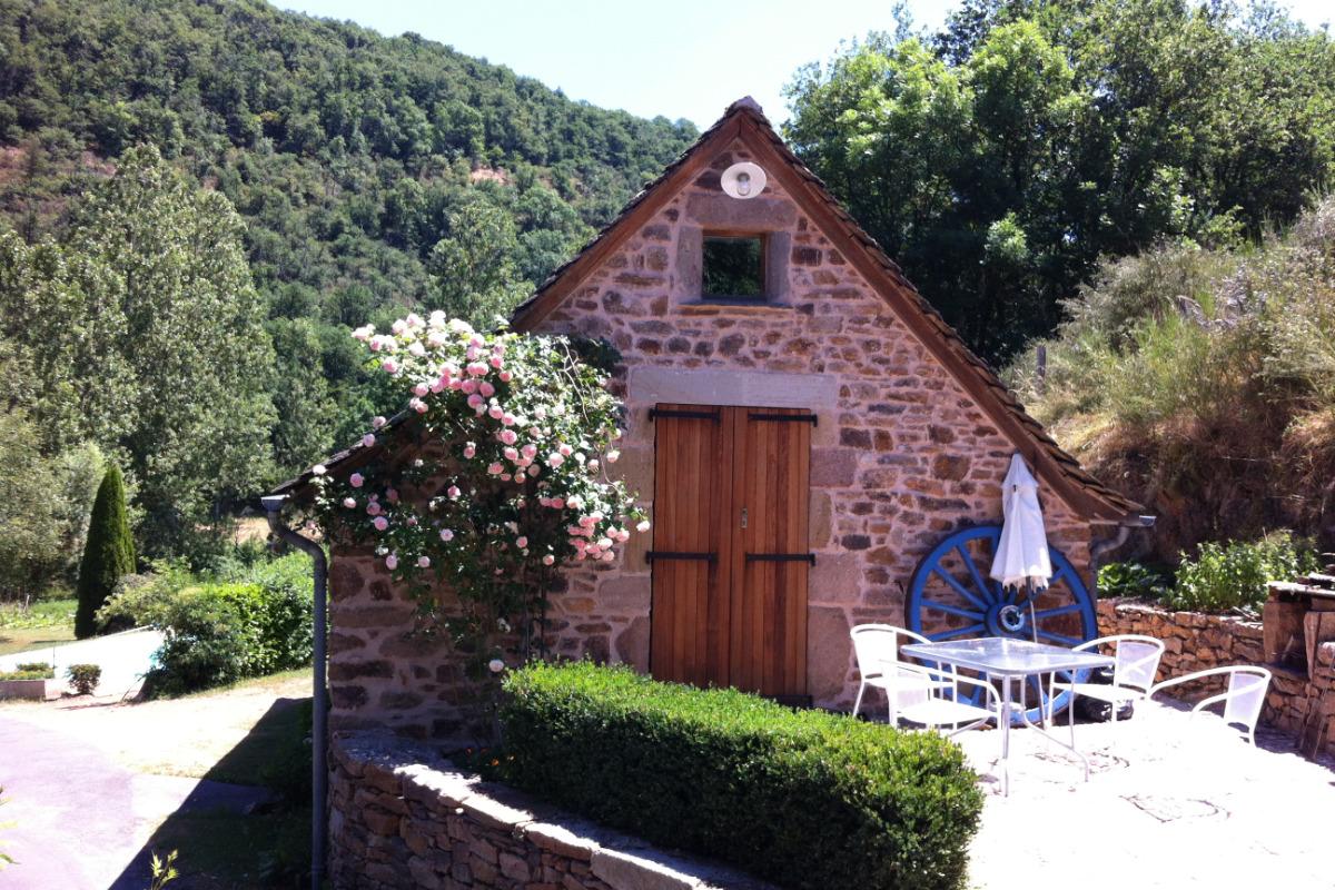 Entrée - Location de vacances - Moyrazès