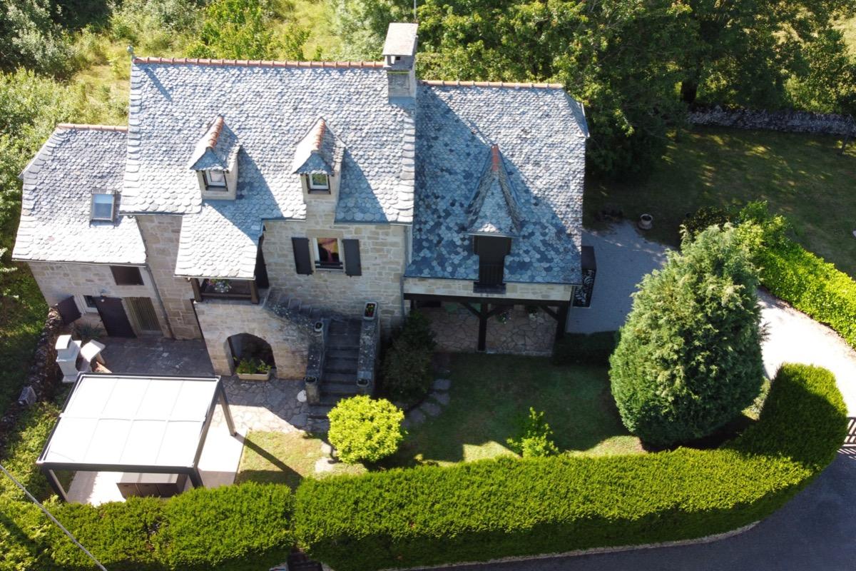 Vue aérienne - Location de vacances - Muret-le-Château