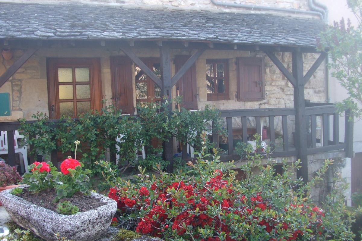 maison vue sur le lac  - Location de vacances - Castelnau-de-Mandailles
