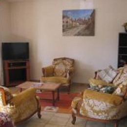 Salon - Location de vacances - Marcillac-Vallon