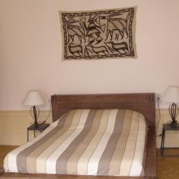 chambre 1 1er étage - Location de vacances - Villecomtal