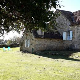 Clos du Trep - Gîte Althéa - salon/salle à manger - Location de vacances - Martiel