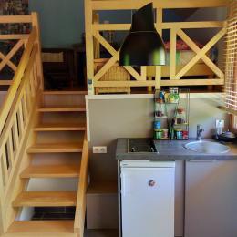 kitchenette - Location de vacances - Montrozier