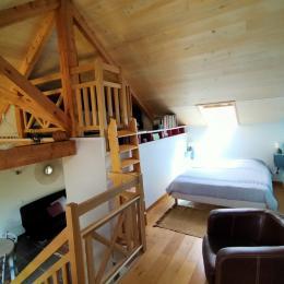 Mezzanine lit en 160 - Location de vacances - Montrozier