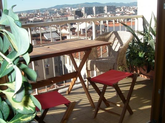 Vue panoramique sur Marseille et vieux port - Location de vacances - Marseille