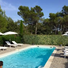 Piscine - Location de vacances - Fuveau