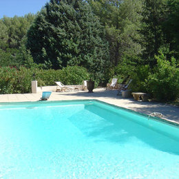 Le Mazet maison provençale indépendante 70 m2 , la Destrousse, le jardin - Location de vacances - La Destrousse