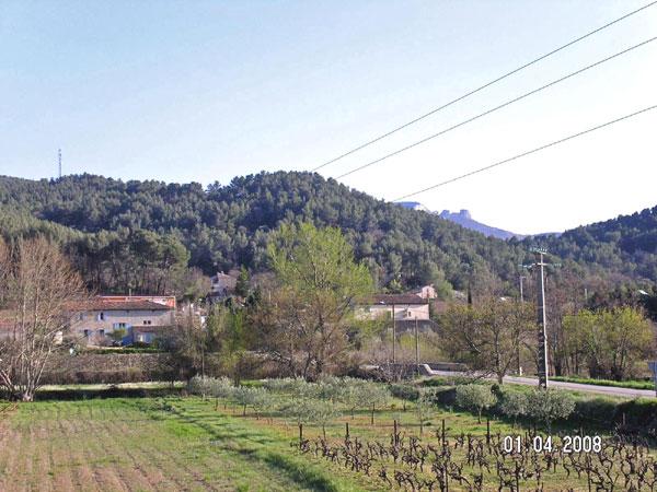 paysages autour de la maison - Location de vacances - Auriol