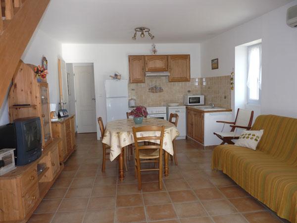 Maison indépendante Chateaurenard-  pièce à vivre - Location de vacances - Châteaurenard
