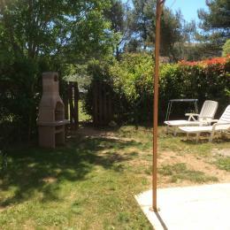 jardin privatif - Location de vacances - Eygalières