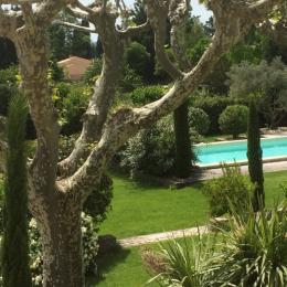 Le jardin   - Location de vacances - Saint-Andiol