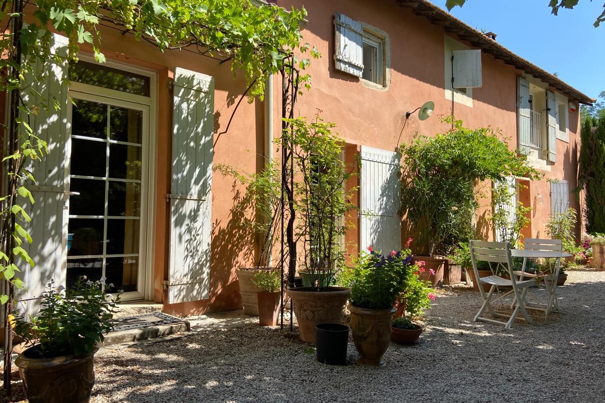 Mas de l'Ecureuil - Présentation du Mas - Location de vacances - Châteaurenard