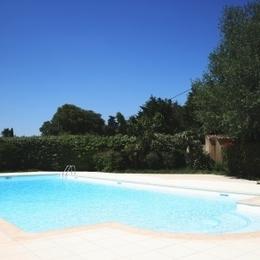 La piscine de la résidence privée - Location de vacances - Mouriès