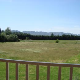 du balcon vue sur les Alpilles - Chambre d'hôtes - Mollégès