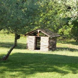 Cabane pour les enfants - Location de vacances - Simiane-Collongue