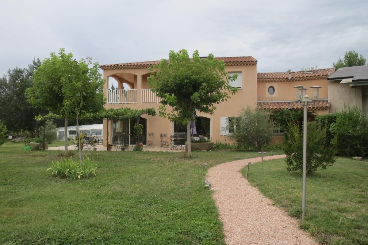 Au jardin du papet maison d 39 h tes moll g s piscine - Chambre d hote saint remy de provence ...