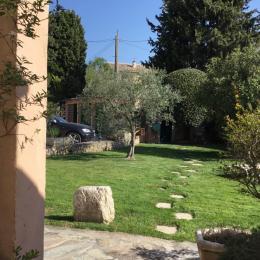 Jardin - Chambre d'hôtes - Mouriès