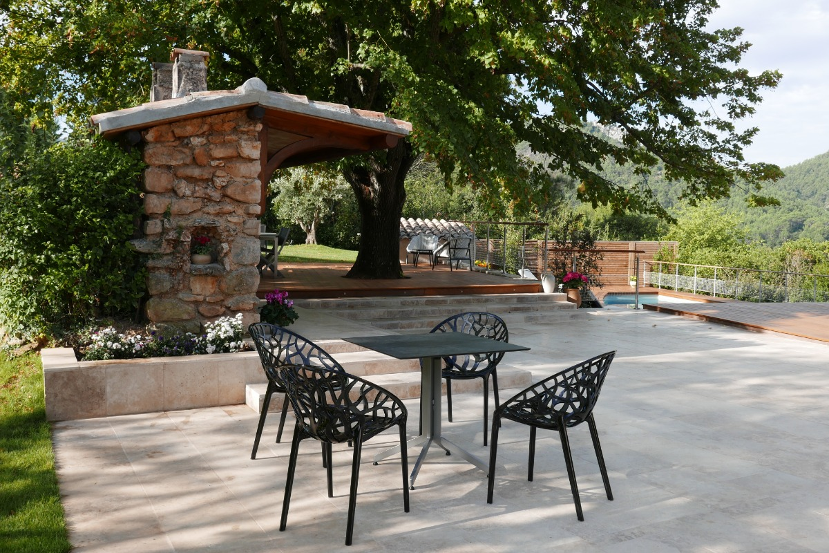 terrasse, cuisine d'été - Location de vacances - Auriol