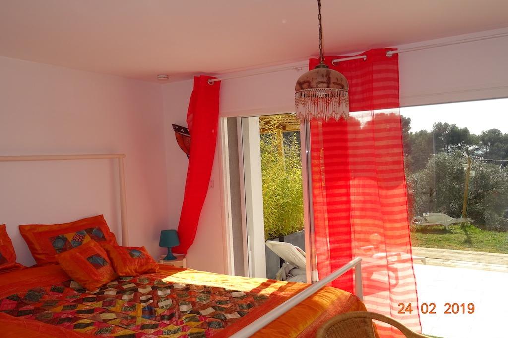 Vue sur l'exterieur - Location de vacances - Aix-en-Provence