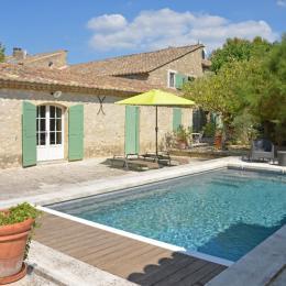 la maison, piscine privée et jardin clos eygalières - Location de vacances - Eygalières