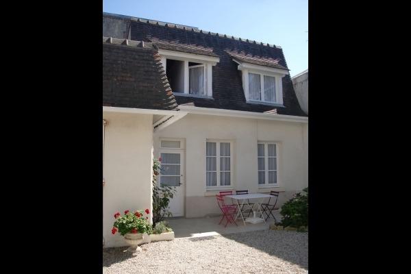La terrasse de la Villa Hortensia - Location de vacances - Villers-sur-Mer