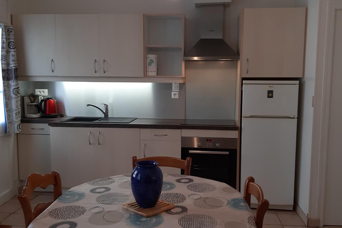 coin cuisine - Location de vacances - Villers-sur-Mer