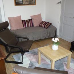 Le salon - Location de vacances - Villers-sur-Mer